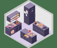 icono de reformas en cocinas
