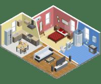 icono de reformas en viviendas